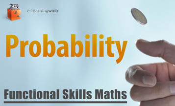 Functional Skills Maths Probability e-Learning