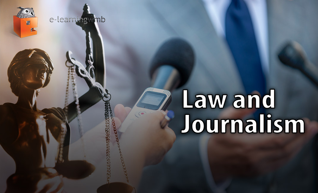 Law and Journalism e-learning course