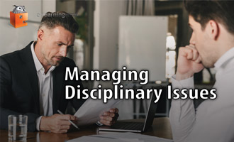 Managing Disciplinary Issues e-Learning