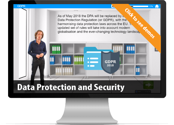 bespoke Data Protection and Security e-Learning