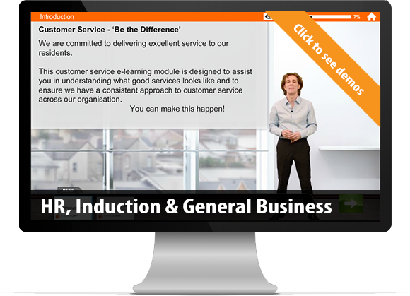 bespoke e-Learning HR Induction & General Business Skills creation
