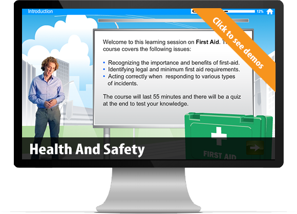 bespoke e-Learning Health and Safety custom content