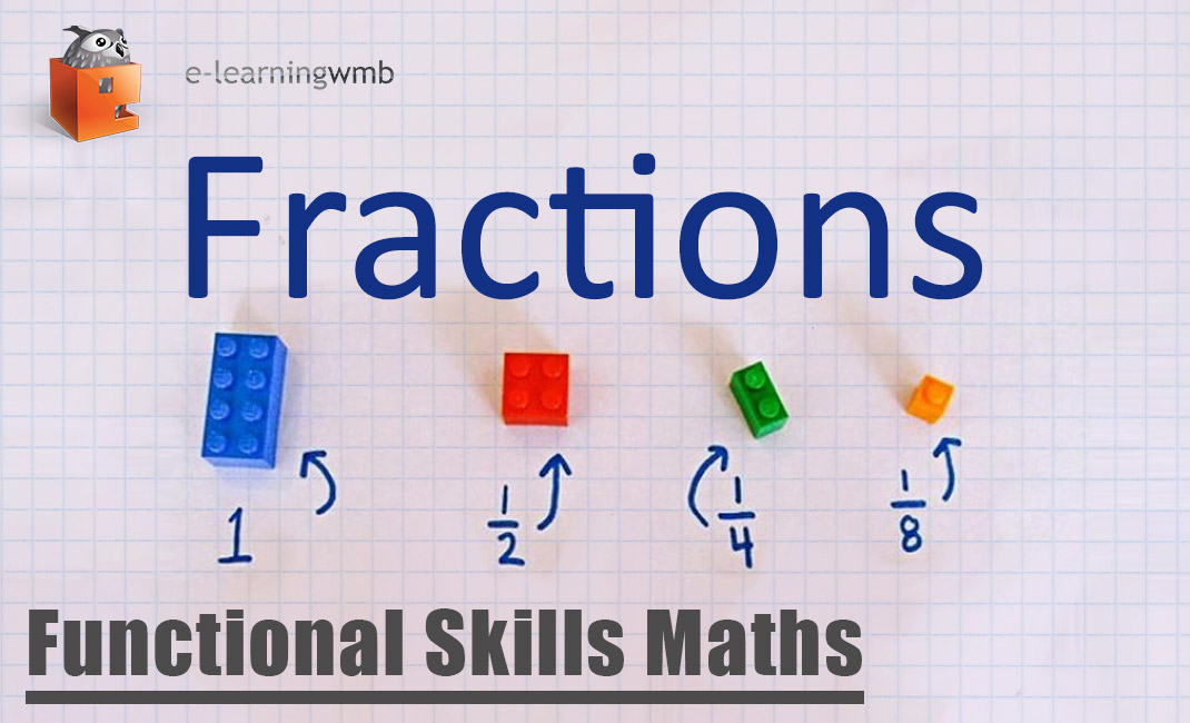 Functional Skills Maths Fractions e-Learning