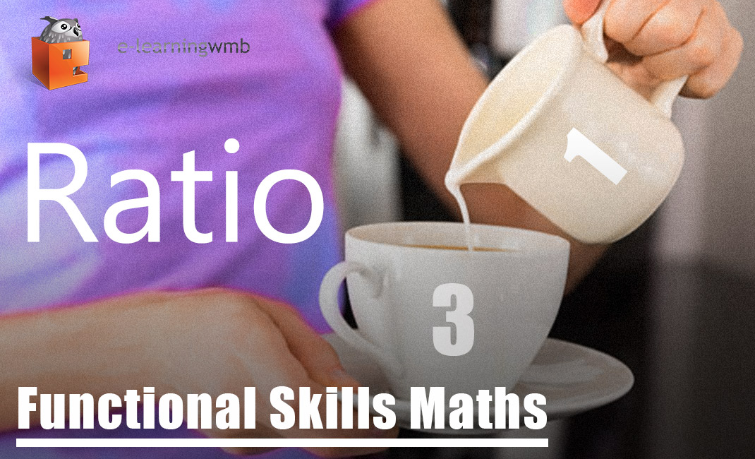 Functional Skills Maths Ratios e-Learning