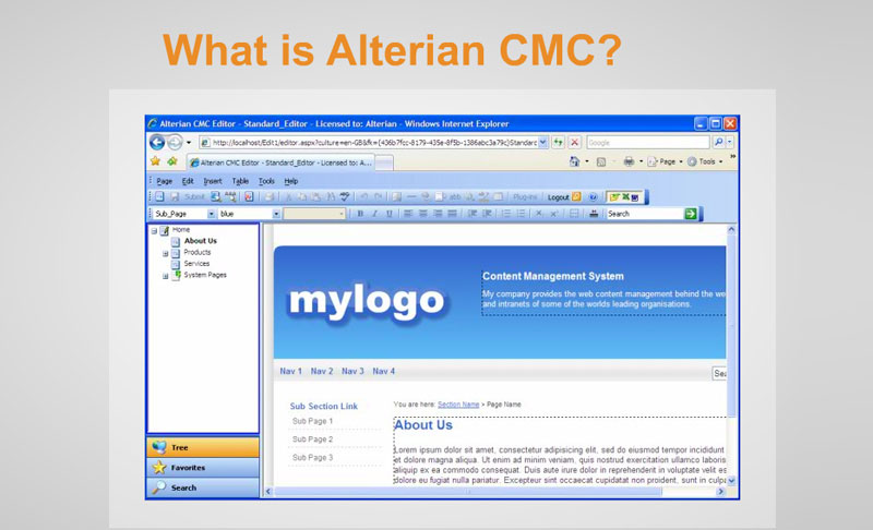 Alterian Software Training e-Learning