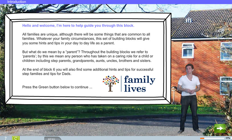 Family Lives e-Learning charity course from e-learning WMB