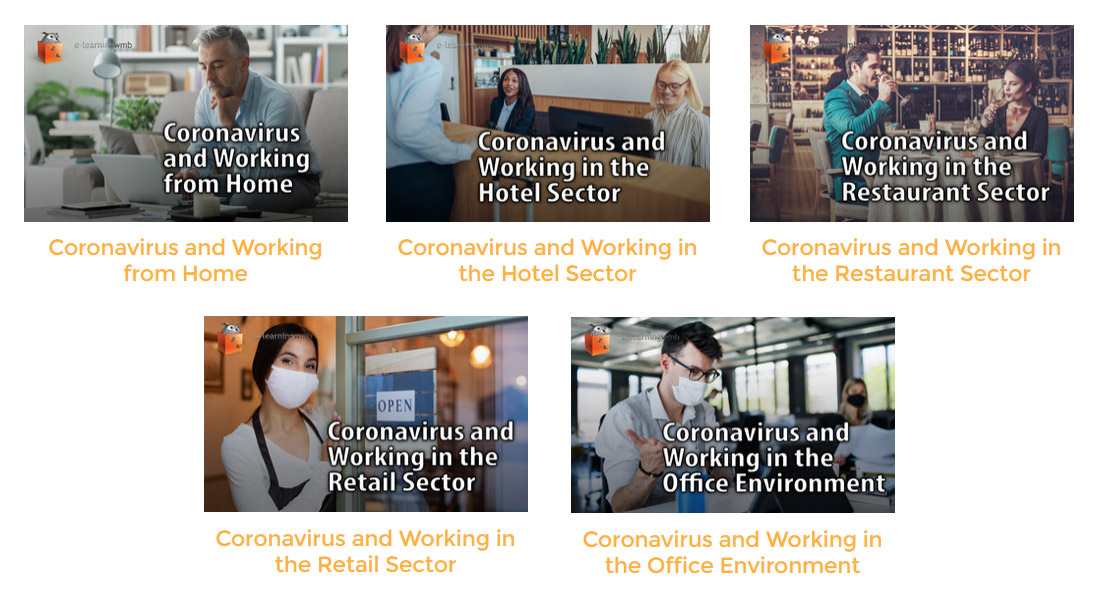 coronavirus in the retail, hotel, restaurant and office sectors