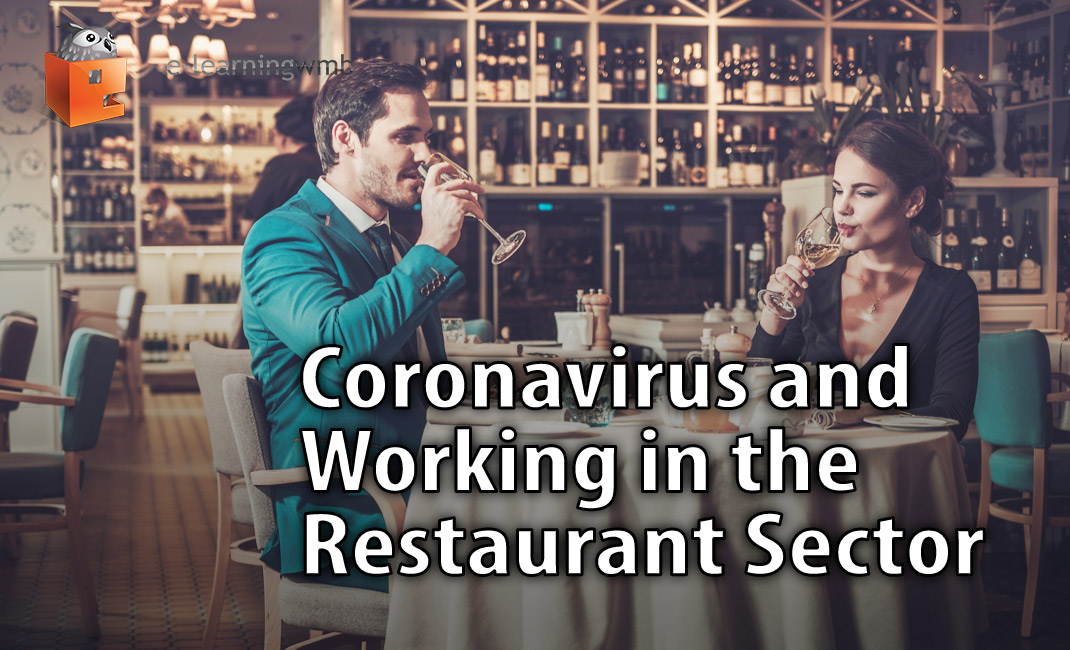 Restaurant customers enjoy wine safely during the pandemic