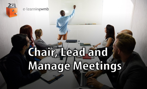 Chair, Lead and Manage Meetings e-learning course launches