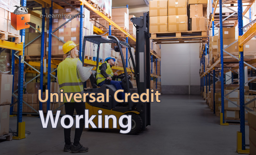 Universal Credit - Working e-learning course launches